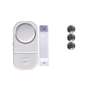 Pack 4 Alarmas para Puertas y Ventanas con Pilas 12xLR44 1,5V 7hSevenOn Home