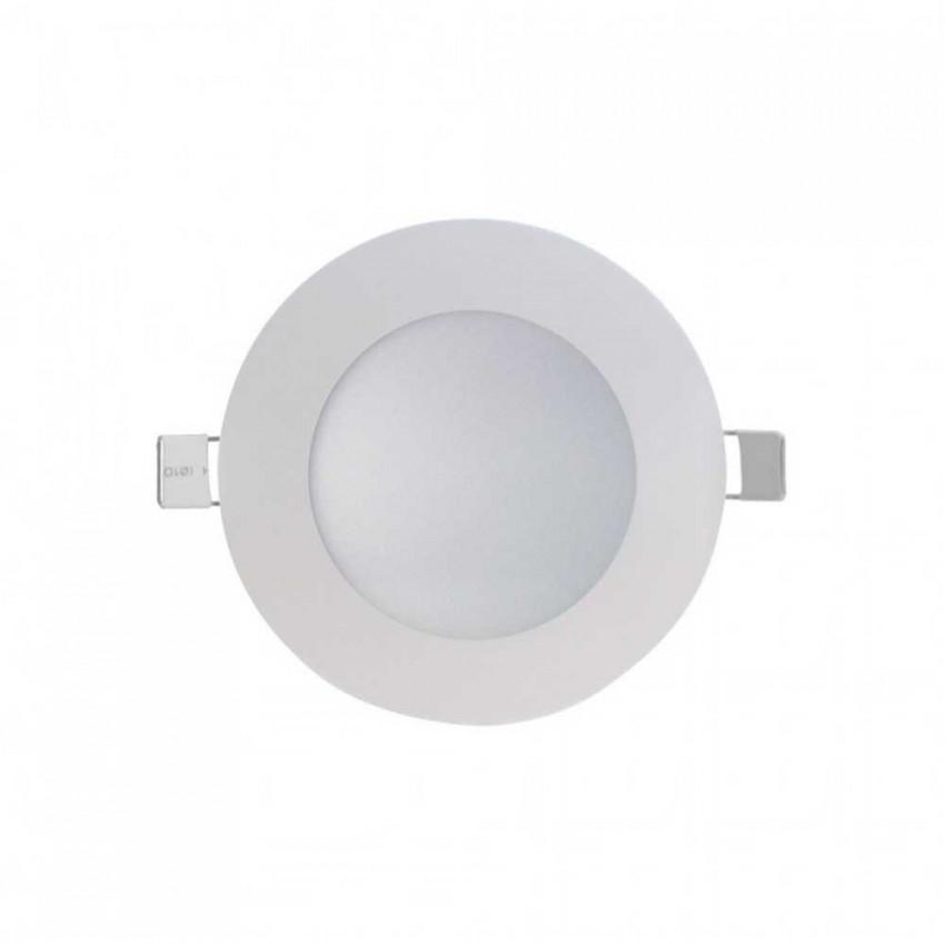 Mini Downlight LED Ultraslim Empotrable Redondo 4W 300lm Ø7cm 4000K Blanco 7hSevenOn