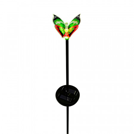 Baliza Mariposa Solar LED Crepuscular Decorativa RGB Nine&One