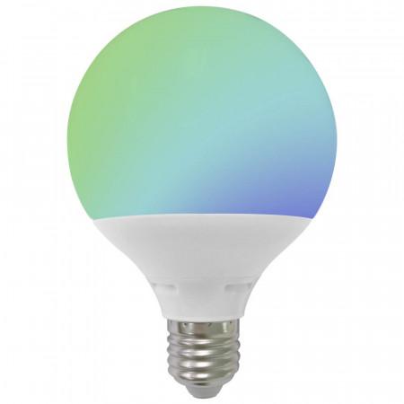 Bombilla LED Globo E27 9W Equi.60W 806lm RGB 25000H 7hSevenOn