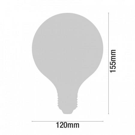 Bombilla LED Globo E27 25W Equi.150W 2452lm 25000H Eilen