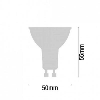 Pack 2 Bombillas LED Spotlight GU10 6W Equi.50W 540lm 3000K 10000H ECO 1Primer Low Cost
