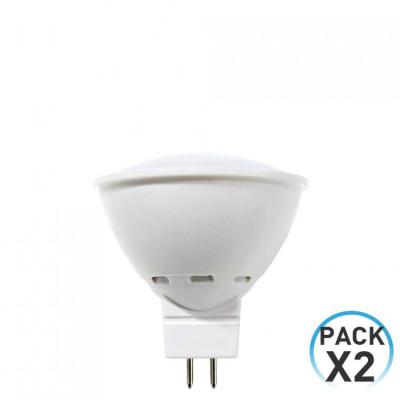 Pack 2 Bombillas LED Spotlight GU5.3 8W Equi.60W 700lm 25000H Eilen