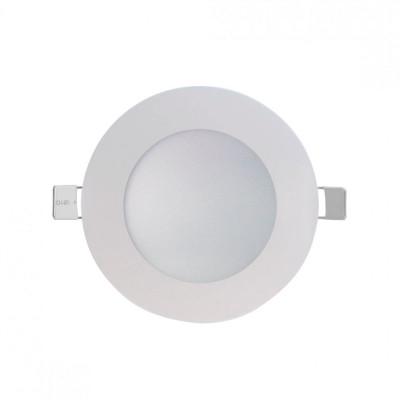 Downlight LED Ultraslim Empotrable Redondo 8W 600lm Ø12cm 4000K Blanco 7hSevenOn