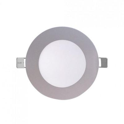 Downlight LED Ultraslim Empotrable Redondo 8W 600lm Ø12cm 4000K Aluminio 7hSevenOn