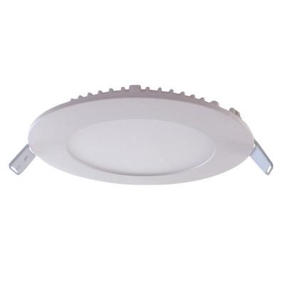 Downlight LED Ultraslim Empotrable Redondo 8W 600lm Ø10,5cm 4000K Blanco 7hSevenOn