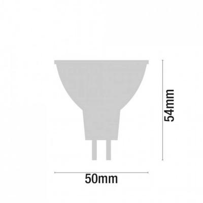 Pack 2 Bombillas LED Spotlight GU5.3 8W Equi.60W 700lm 6000K 25000H 7hSevenOn LED