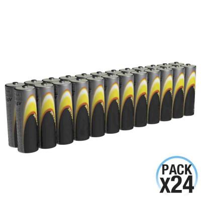 Pack 24 Pilas Alcalinas Estándar 1.5V LR06-AA 7hDayron