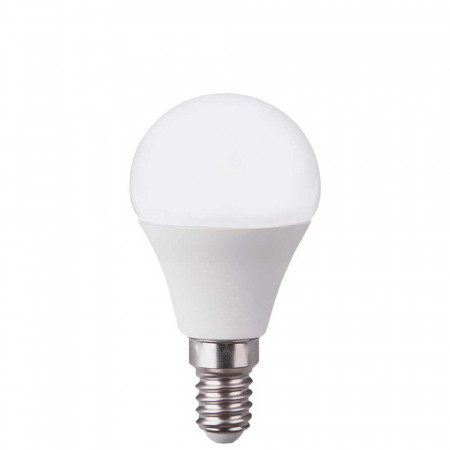 Bombilla LED Esférica E14 6W Equi.40W 470lm 25000H Eilen