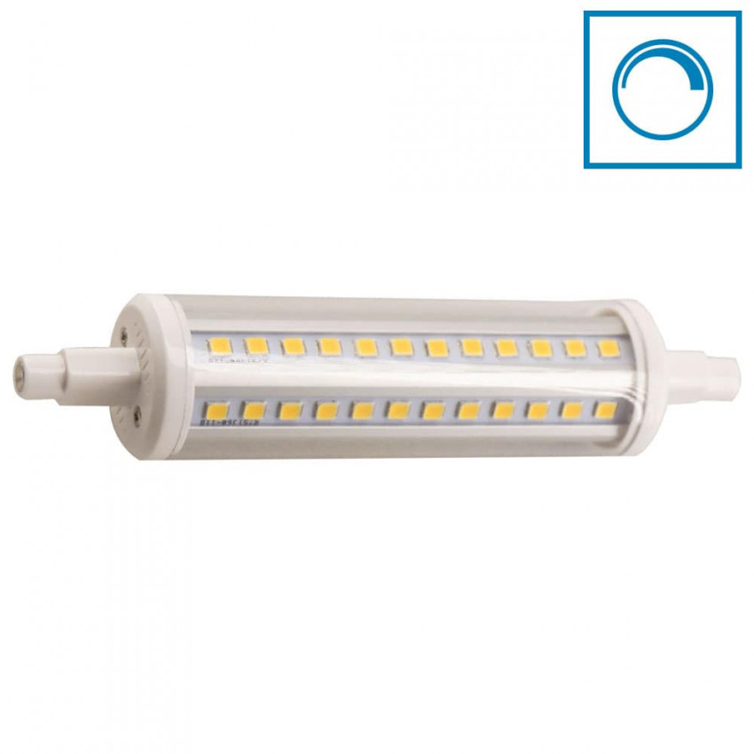 Bombilla LED Tubo R7S 10W Equi.80W 1200lm Regulable 4000K 25000H