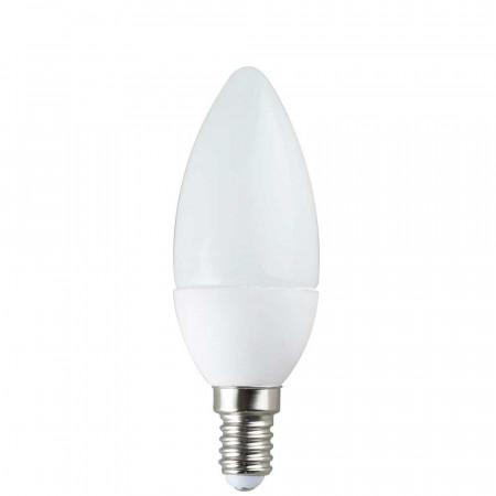 Bombilla LED Vela E14 6W Equi.40W 470lm 3000K 25000H Eilen