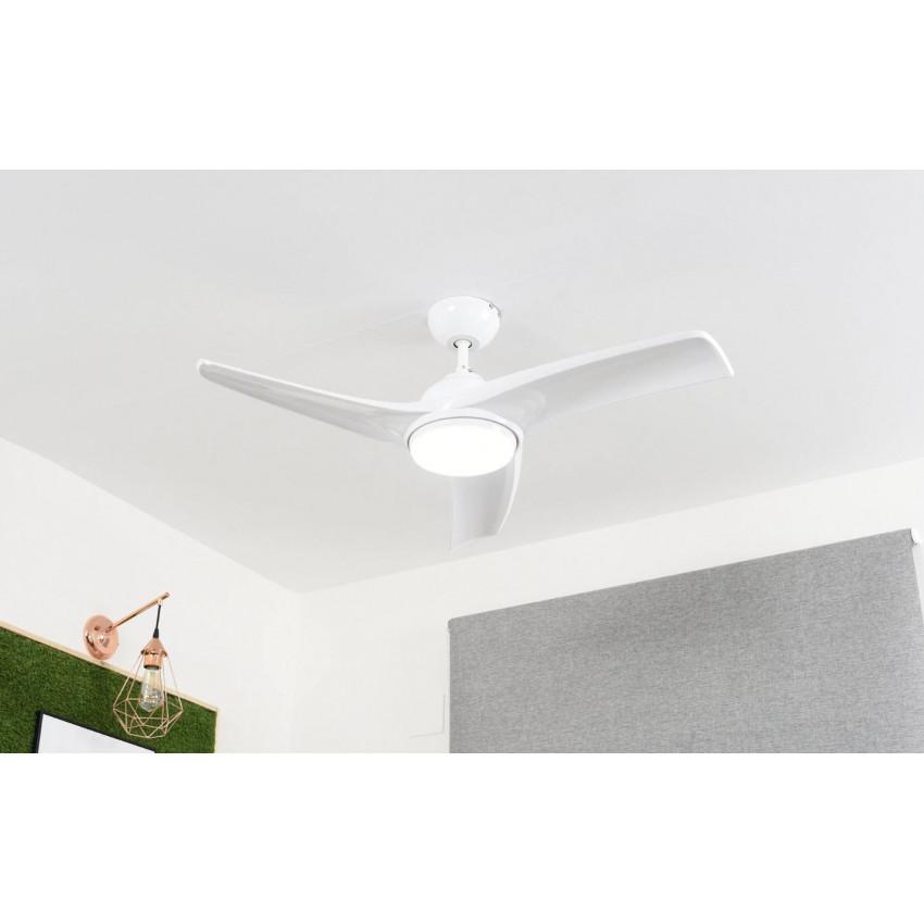 Ventilador de Techo con Luz 3 Aspas 55W 3 Velocidades Samoa