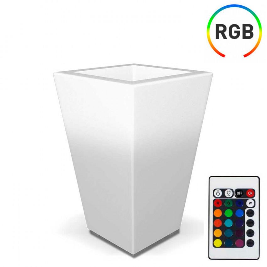 Macetero LED RGB Decorativo 70x45cm con Mando 7hSevenOn Outdoor