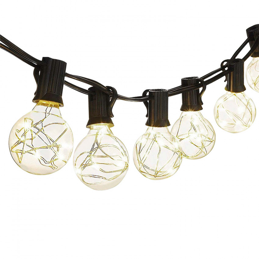 Guirnalda LED Decorativa 25 Luces de Exterior 7,5m IP44 7hSevenOn Outdoor