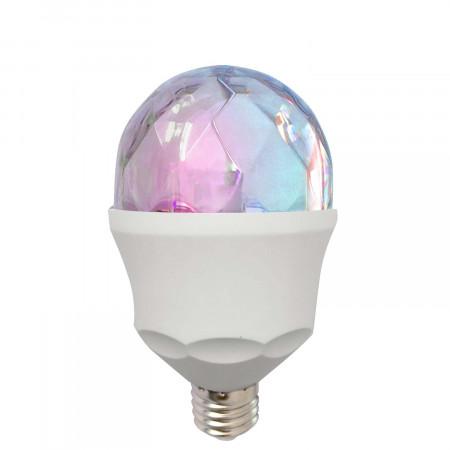 Bombilla LED Disco Party E27 3W RGB 10000H 7hSevenOn