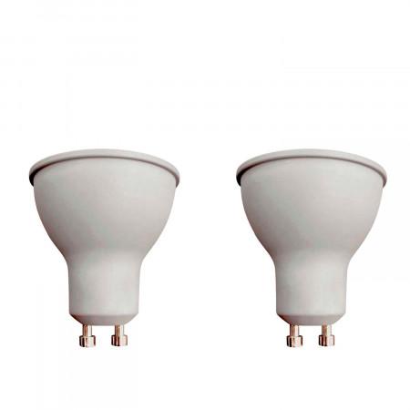 Pack 2 Bombillas LED Spotlight GU10 8W Equi.60W 700lm 25000H Eilen