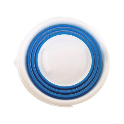 Cesta para la Colada Plegable Azul con Asas 7house