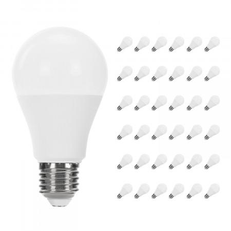 Pack 36 Bombillas LED Estándar E27 9W Equi.60W 806lm Raydan Home