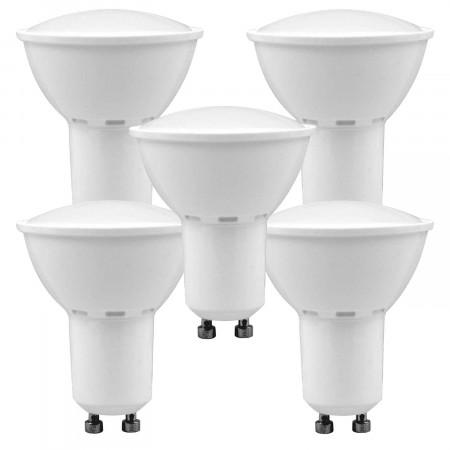 Pack 5 Bombillas LED Spotlight GU10 6W Equi.50W 540lm 15000H 1Primer Low Cost
