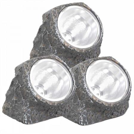 Pack 3 Lámparas Solares LED...