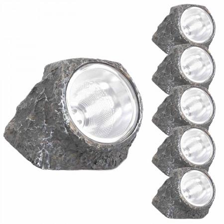 Pack 6 Lámparas Solares LED...