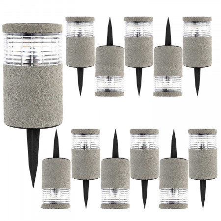 Pack 12 Balizas Solares LED...