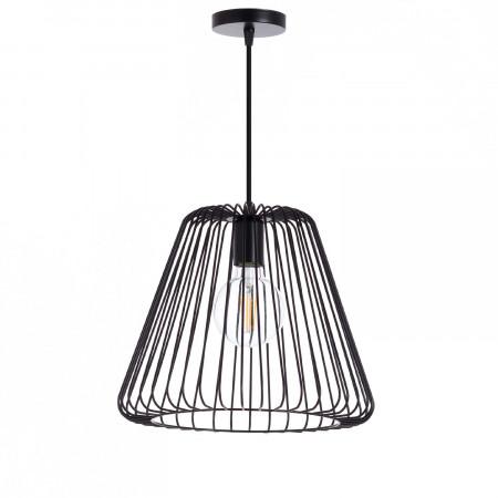 Lámpara de Techo Plock Negro 34x34x28cm 7hSevenOn Deco