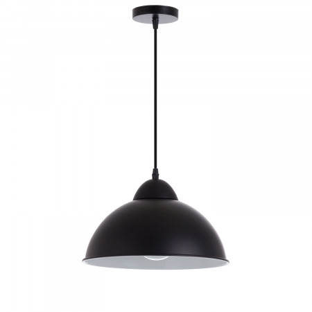 Lámpara de Techo Mielec Negro 30x30x18cm 7hSevenOn Deco