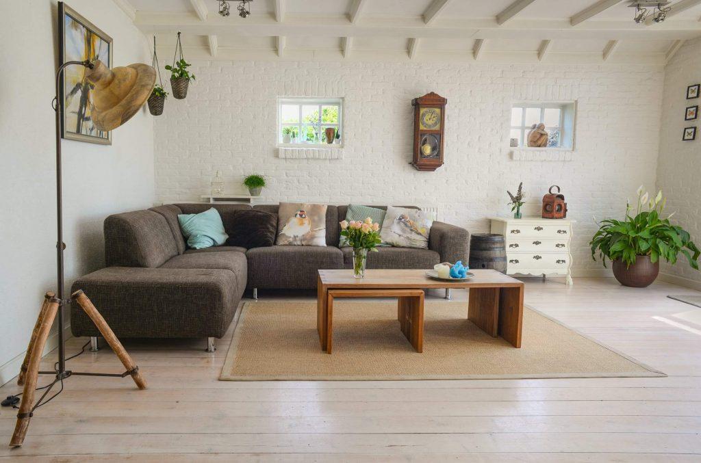 living room nórdico