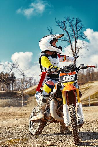 mini moto de campo