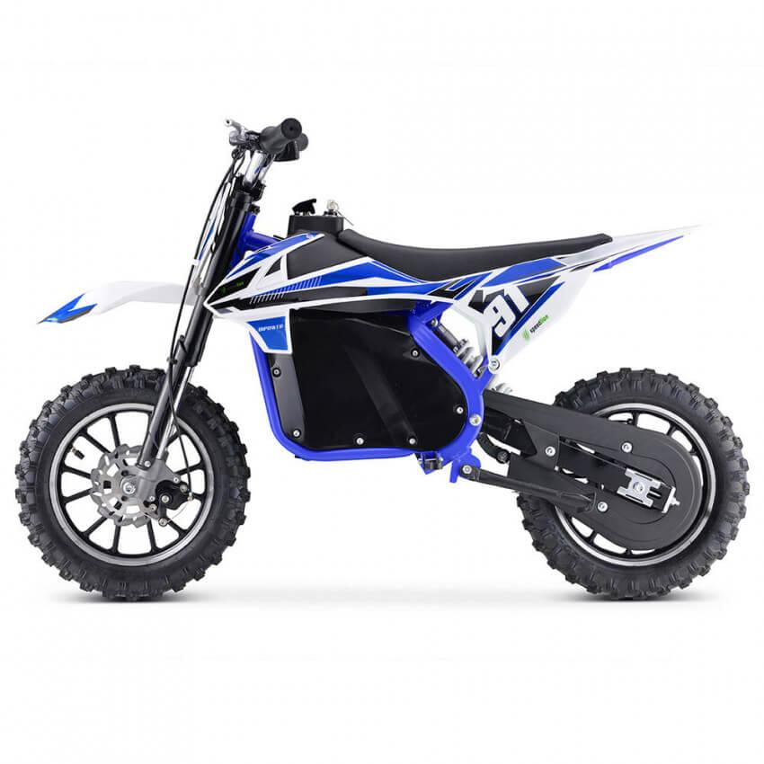 mini moto bipower azul