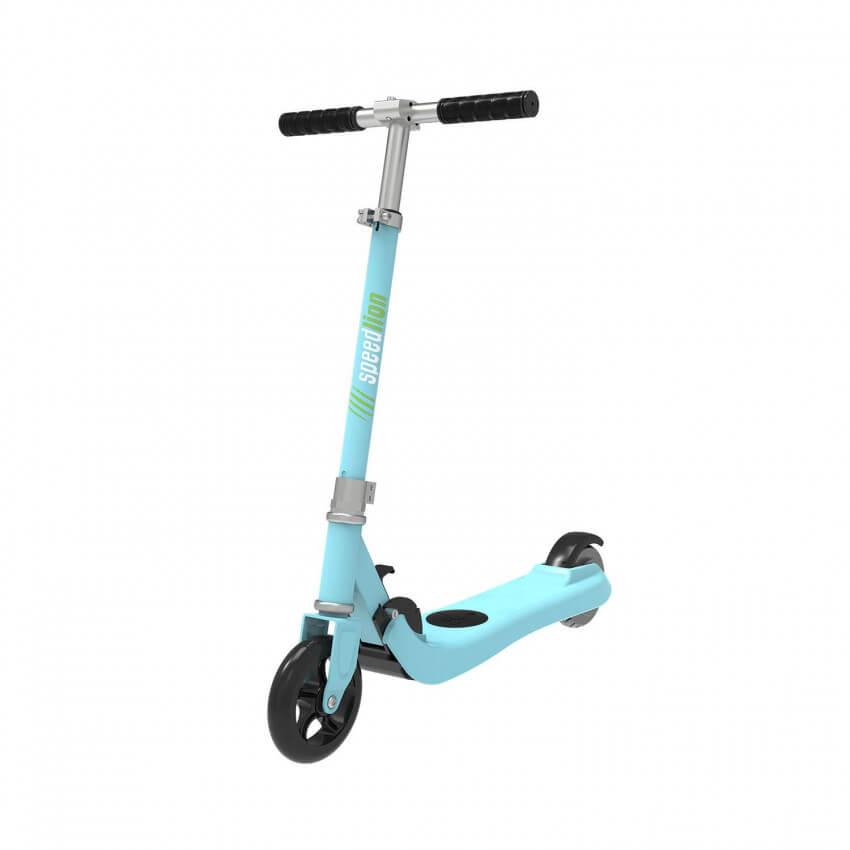 patinete electrico infantil azul