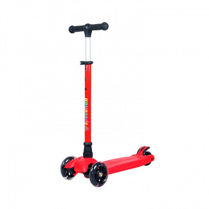 patinete infantil triciclo rojo