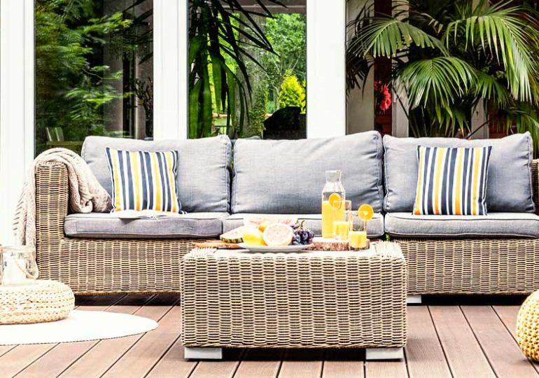 Cómo elegir material para los muebles de jardín