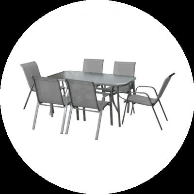 ✔️ Conjuntos de Mesas y Sillas de Exterior Baratos Online ▶️