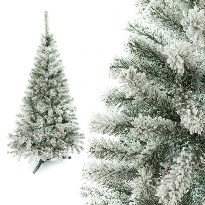 Nuestro modelo de árbol de Navidad Helsinki con efecto nevado