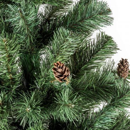 Nuestro árbol de Navidad modelo Otawa decorado con piñas