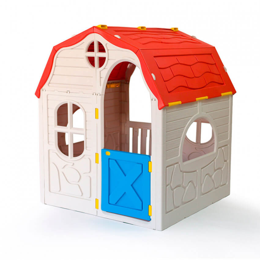 Caseta infantil de juegos plegable