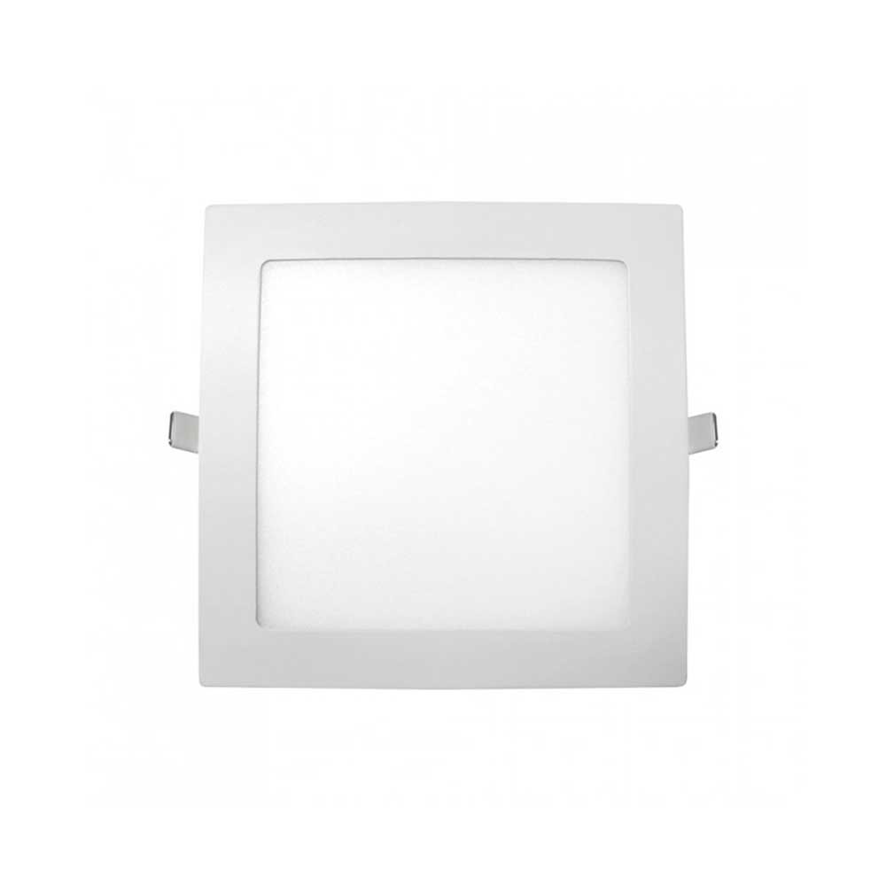 Downlight LED Ultraslim Empotrable Cuadrado 9W 720lm 13x13cm Blanco Eilen