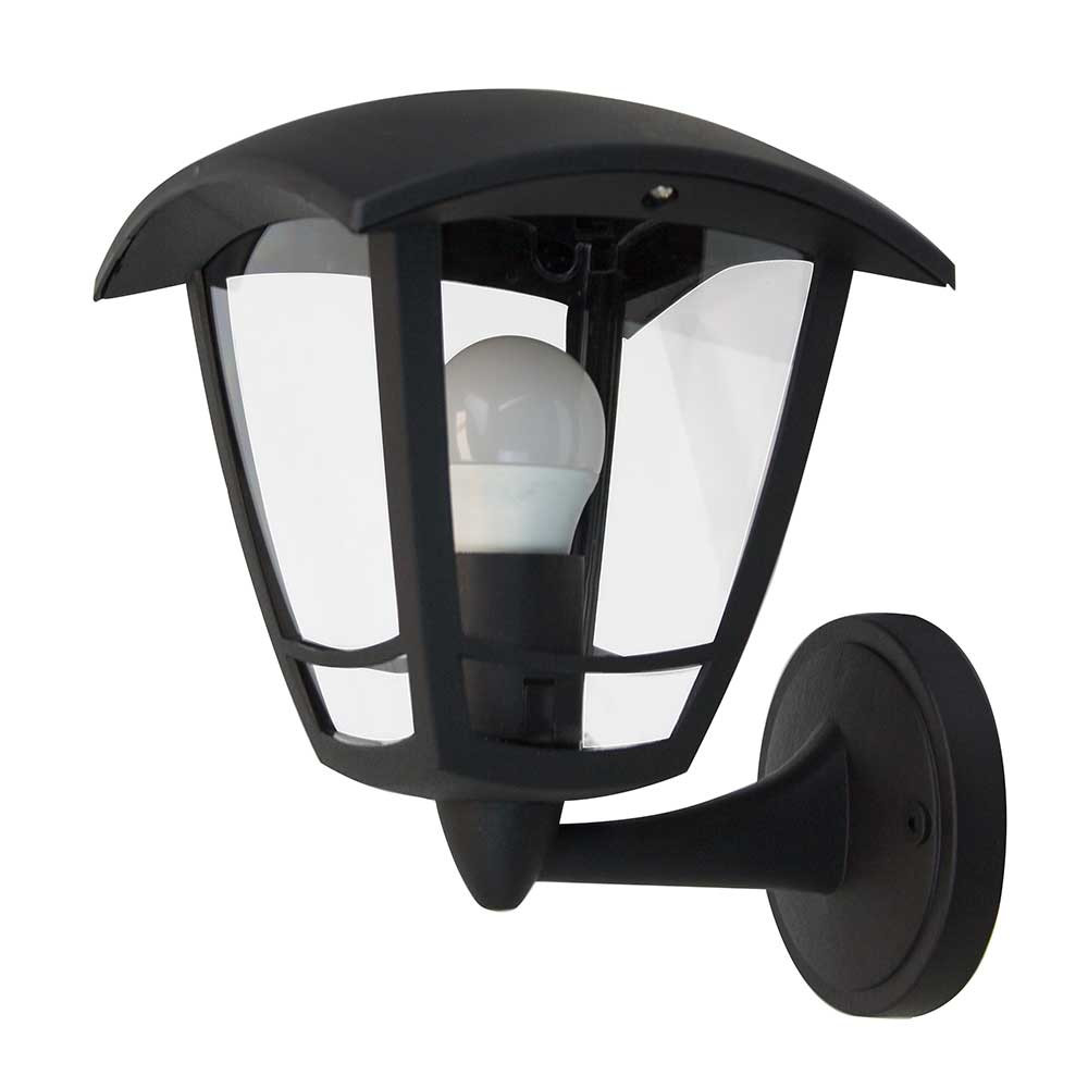 Aplique de Pared Ascendente de Exterior IP44 Moderno Negro 7hSevenOn Outdoor